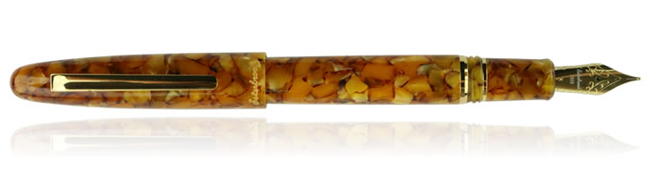 Esterbrook Estie Oversized Fountain Pens in Honeycomb Gold