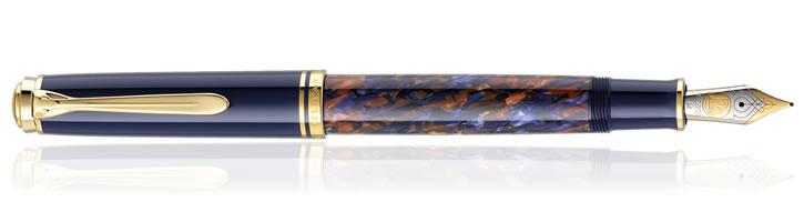 Pelikan M800 Stone Garden Fountain Pens