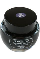 Aoguro Blue-Black Taccia Bottle(40ml) Fountain Pen Ink