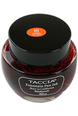 Daidai Orange Taccia Bottle(40ml) Fountain Pen Ink