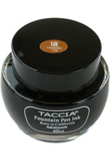 Tsuchi Golden Wheat Taccia Bottle(40ml) Fountain Pen Ink