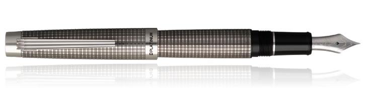 "Platinum 100th Anniversary ""The Prime"" Silver Edition Fountain Pens"