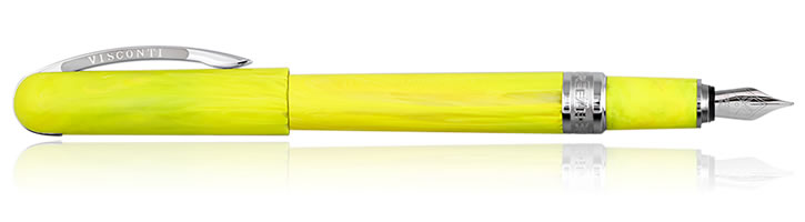 Visconti Breeze Fountain Pens in Lemon