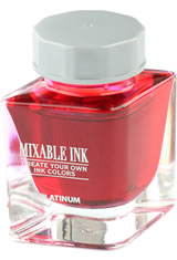 Flame Red Platinum Mixable Mix-Free Bottled(20ml)  Fountain Pen Ink
