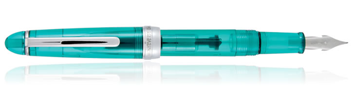 Monteverde Monza 3 Fountain Pens in Teal