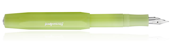Fine Lime Kaweco Frosted Sport Fountain Pens