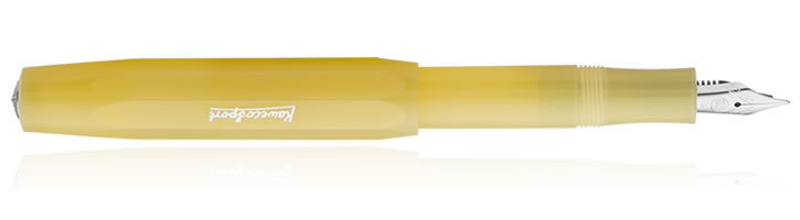 Sweet Banana Kaweco Frosted Sport Fountain Pens