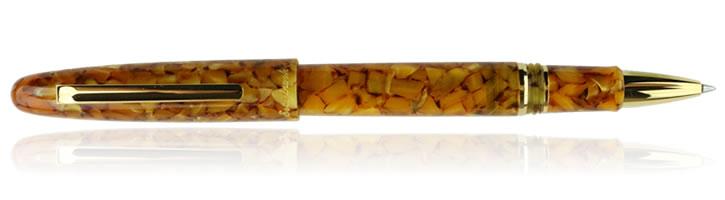 Honeycomb Gold Esterbrook Estie Rollerball Pens