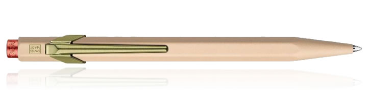 Caran d'Ache 849 Claim Your Style Ballpoint Pens in Beige