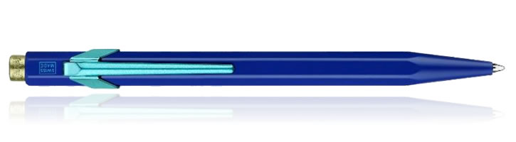 Caran d'Ache 849 Claim Your Style Ballpoint Pens in Blue