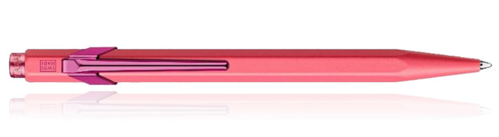 Caran d'Ache 849 Claim Your Style Ballpoint Pens in Pink