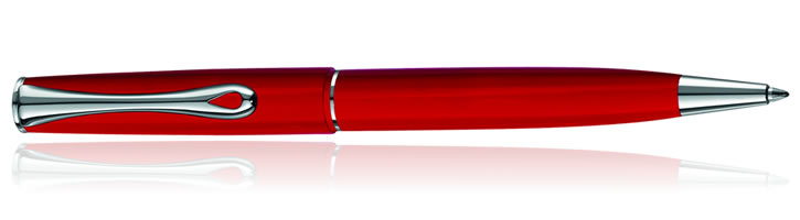 Diplomat Esteem Ballpoint Pens in Red