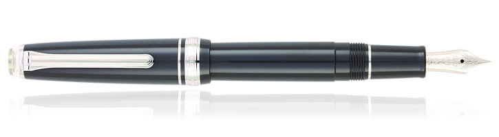 Sailor Professional Gear Slim Graphite Lighthouse Fountain Pens in Graphite Lighthouse
