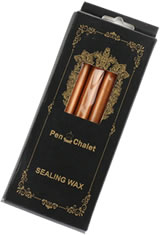 Pen Chalet Glue Gun Sealing Wax in Rose Gold