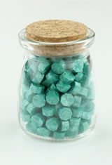 Pen Chalet Beads  in Turquoise