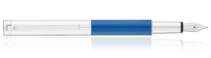 Ice Blue Waldmann Cosmo Fountain Pens