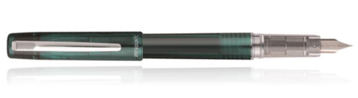 Dark Emerald Platinum Prefounte Fountain Pens