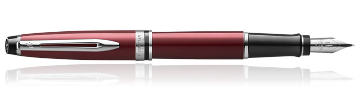 Waterman Expert Fountain Pens in Red