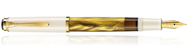 Pelikan M200 Gold Marbled Fountain Pens