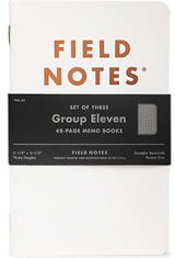 Field Notes Group Eleven  in Group Eleven 3 Pack