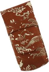 Crimson Hare Taccia Kimono 3 Slot Pen Carrying Cases