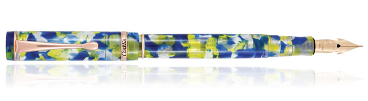 Conklin Duraflex Elements Fountain Pens in Water