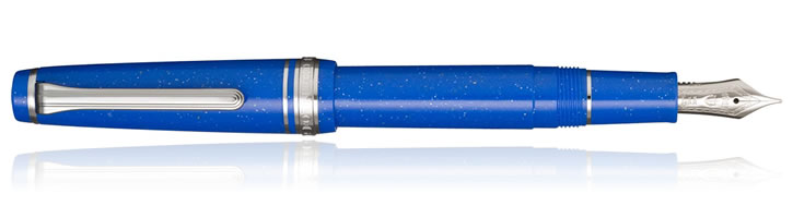 Sailor Pro Gear Slim Blue Dwarf Fountain Pens