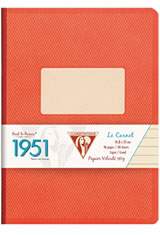 Clairefontaine 1951(96 Sheets) Memo & Notebooks in Red Coral