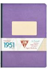 Clairefontaine 1951(96 Sheets) Memo & Notebooks in Violet