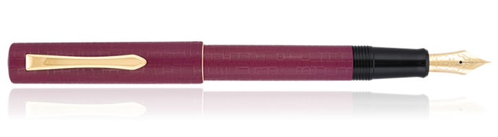 Pilot Ishime Fountain Pens in Burgundy