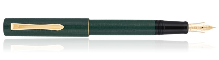 Pilot Ishime Fountain Pens in Hunter Green