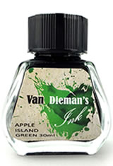 Apple Island Green Van Dieman's Ink Original Fourteen Colours of Tasmania(30ml) Fountain Pen Ink