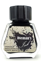 Cradle Mountain Grey Van Dieman's Ink Original Fourteen Colours of Tasmania(30ml) Fountain Pen Ink