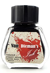 Tamar Pinot Noir Wine Red Van Dieman's Ink Original Fourteen Colours of Tasmania(30ml) Fountain Pen Ink