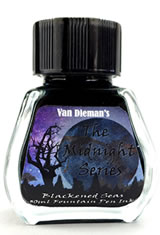 Van Dieman's Ink Midnight(30ml) Fountain Pen Ink