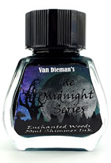 Enchanted Woods Van Dieman's Ink Midnight(30ml) Fountain Pen Ink