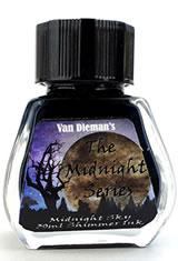 Midnight Sky - Shimming Ink Van Dieman's Ink Midnight(30ml) Fountain Pen Ink