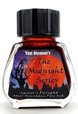Sailors Delight Van Dieman's Ink Midnight(30ml) Fountain Pen Ink