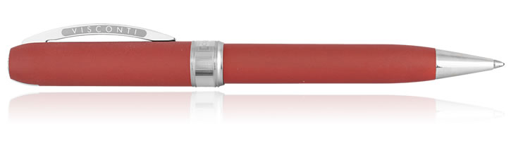 Visconti Rembrandt Eco-Logic Ballpoint Pens in Red