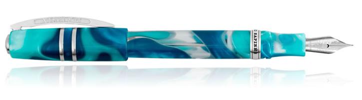 Visconti Homo Sapiens Blue Lagoon Fountain Pens
