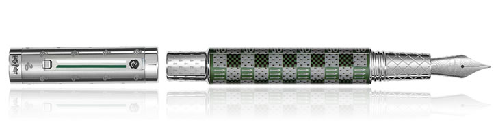 Montegrappa Harry Potter Fountain Pens in Slytherin