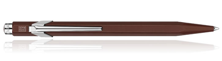 Caran d'Ache 849 Line Friends Ballpoint Pens in Brown