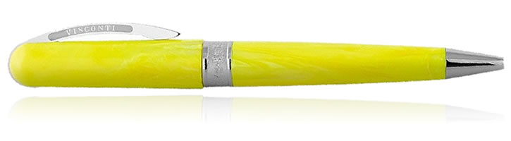 Visconti Breeze Ballpoint Pens in Lemon