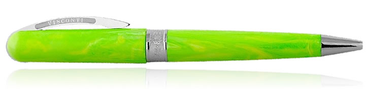 Visconti Breeze Ballpoint Pens in Lime