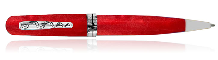 Conklin Courage Ballpoint Pens in Red