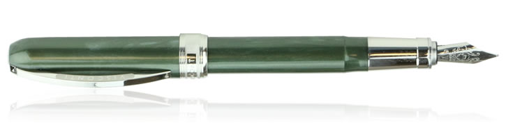 Visconti Rembrandt Olive Green Fountain Pens