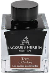 Terre d'Ombre Jacques Herbin Essentials(50ml) Fountain Pen Ink