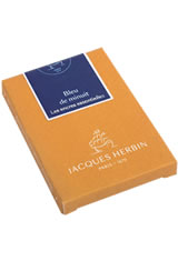 Jacques Herbin Essentials Pen Carrying Cases in Bleu de Minuit