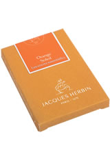 Jacques Herbin Essentials Ballpoint Pens in Orange Soleil