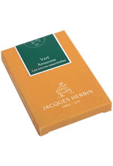 Jacques Herbin Essentials Rollerball Pen Refills in Vert Amazone